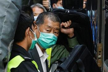 Trùm truyền thông Hong Kong Jimmy Lai bị bắt lại vì nghi ngờ hỗ trợ một vụ đào tẩu