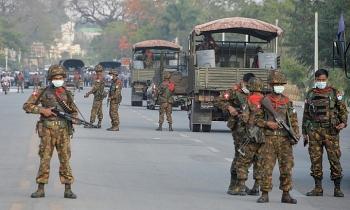 Hàng loạt website quân đội Myanmar bị đánh sập để phản đối đảo chính