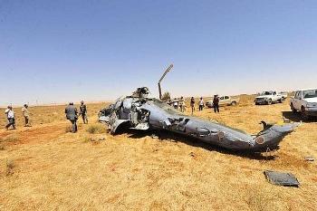Hé lộ video Nga sơ tán Mi-35 gặp nạn về căn cứ