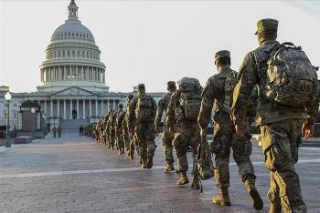 Lầu Năm Góc chấp thuận duy trì vệ binh quốc gia tại Điện Capitol đề phòng các mối đe dọa