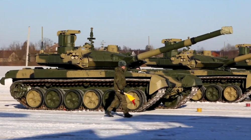 Nga chính thức nhận 8 xe tăng chiến đấu chủ lực T-90M