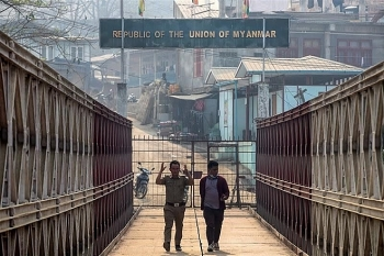 Đối mặt với nguy cơ bị trục xuất khỏi Ấn Độ, cảnh sát Myanmar vượt biên có động thái bất ngờ