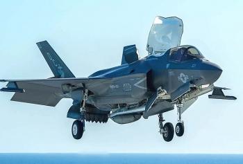 Đạn pháo trên chiếc F-35 của Thủy quân lục chiến Mỹ bất ngờ phát nổ