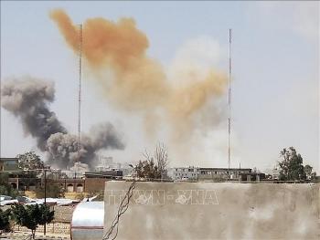 Saudi Arabia chặn đứng nhiều vụ tấn công bằng tên lửa và UAV của Houthi