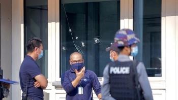 Cơ sở thuộc Đại sứ quán Mỹ ở Myanmar bị nã đạn, giới chức Yangon chưa bình luận