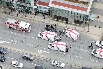 Tấn công bằng dao kinh hoàng tại một thư viện ở Canada