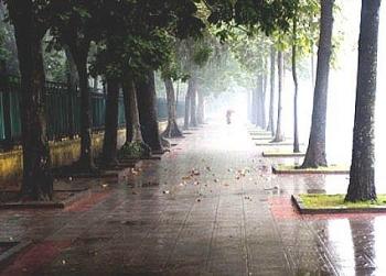 Thời tiết ngày mai 3/4: Hà Nội đêm và sáng sớm mưa nhỏ, nhiệt độ cao nhất 26-28 độ