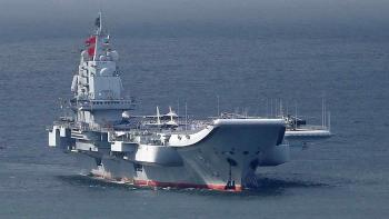 Tàu sân bay Trung Quốc đi qua eo biển Miyako, Nhật tức tốc 'hành động'