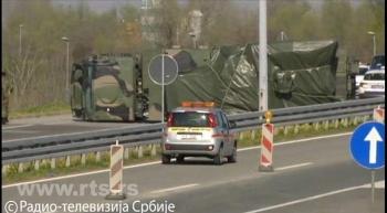 Tên lửa phòng không Pantsir-S1 gặp nạn ở Serbia