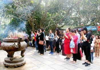 Các nghi thức trong Lễ hội đền Hùng
