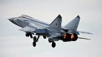 Chiến cơ MiG-31 của Nga đánh chặn máy bay quân sự của Mỹ và Na Uy trên biển Barents