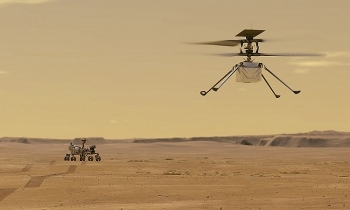 Trực thăng NASA cất cánh thành công trên sao Hỏa, hoàn thành chuyến bay có động cơ đầu tiên ngoài Trái Đất