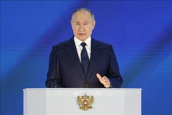 Tổng thống Putin đọc Thông điệp Liên bang thứ 27 của Nga