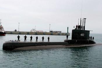 Quân đội Indonesia phát hiện tín hiệu gần nơi tàu ngầm KRI Nanggala 402 biến mất