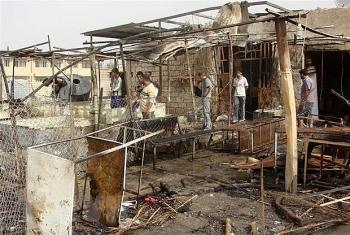 Căn cứ không quân Balad tiếp tục bị dội rocket, lực lượng tấn công vẫn là ẩn số
