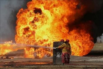 Hai giếng dầu tại Bai Hassan của Iraq lại bị tấn công