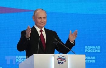 Tổng thống Putin khẳng định Nga không tìm kiếm lợi thế quân sự đơn phương