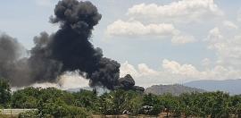 Tin tức thời sự nóng nhất chiều 9/7: Cháy dữ dội trong sân bay quân sự Thành Sơn