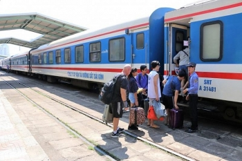 Đường sắt tạm ngưng chạy đôi tàu Bắc - Nam
