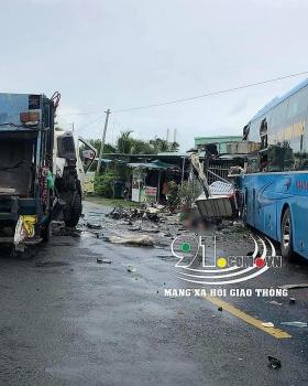 Tin tức tai nạn giao thông (TNGT) chiều 3/8: Chạy xe máy lao thẳng vào đầu xe ô tô, thanh niên bị hất văng lên không, tử vong tại chỗ