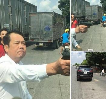 Tin tức pháp luật nóng nhất trong ngày: Người đàn ông rút súng doạ bắn