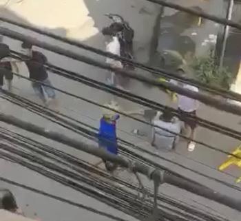 Công an Vĩnh Phúc điều tra vụ việc hai người đàn ông trung niên bị hành hung dã man tại thị trấn Thổ Tang