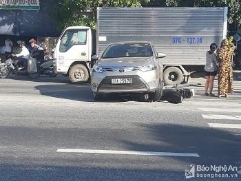 Tai nạn giao thông chiều 26/9: Xe 4 chỗ và xe máy