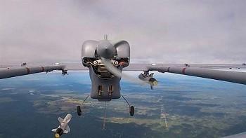 Nga lần đầu sử dụng UAV Forpost ném bom tấn công