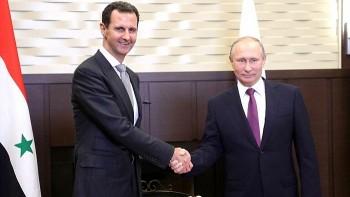 Tổng thống Syria bất ngờ tới Điện Kremlin gặp người đồng cấp Nga