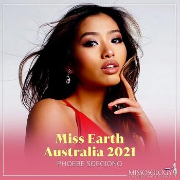 Nhan sắc quyến rũ của người đẹp gốc Á vừa giành ngôi vị Hoa hậu Trái đất Australia 2021