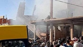 Nổ khí gas kinh hoàng ở Algeria, hơn 20 người thương vong