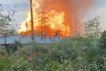 Video: Đường ống dẫn gas tại Thái Lan nổ tung, 22 người thương vong