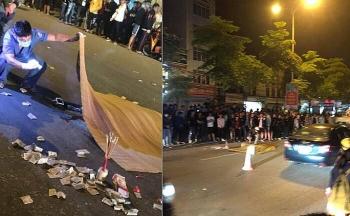 Tai nạn giao thông sáng 23/10: Thanh niên trẻ bốc đầu xe, bạn ngồi sau ngã bắn sang đường tử vong