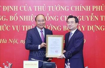 Thủ tướng trao quyết định bổ nhiệm ông Nguyễn Thanh Nghị giữ chức Thứ trưởng Bộ Xây dựng
