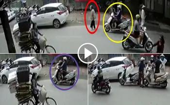 Tai nạn giao thông sáng 2/11: Tông vào cụ bà 80 tuổi gãy xương, nữ