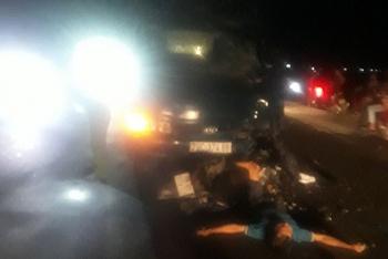 Tai nạn giao thông sáng 5/11: Xe tải tông mô tô, 1 người chết tại chỗ