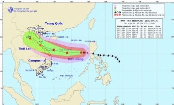 Công điện của Thủ tướng yêu cầu ứng phó với bão số 13