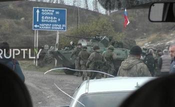 Cận cảnh trang bị hùng hậu của lực lượng gìn giữ hòa bình Nga tại Nagorno-Karabakh