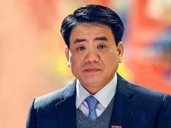 Cựu Chủ tịch Hà Nội Nguyễn Đức Chung bị truy tố ở khung hình phạt 10-15 năm tù