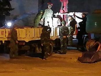 Hà Nội: Quả bom tại phố Cửa Bắc đã được hủy nổ an toàn