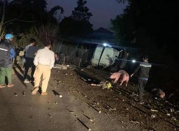 Tai nạn giao thông sáng 7/12: Xe tải chở lợn va chạm với xe máy trên QL3 khiến 2 bố con tử vong trên đường về nhà