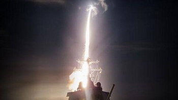 Tên lửa Mỹ bất ngờ mất hút khi đánh chặn mục tiêu