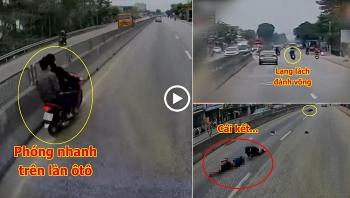 Tai nạn giao thông sáng 25/12: Phóng xe máy tốc độ kinh hoàng trên làn ôtô, 2 thanh niên nhận cái kết đau đớn