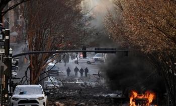 Mỹ: Nổ lớn làm rung chuyển trung tâm TP Nashville, nghi ngờ là hành động có chủ ý