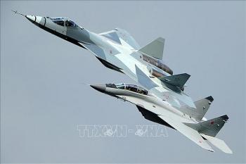 Không quân Vũ trụ Nga nhận 'quái điểu' Su-57 như 'hổ mọc thêm cánh'