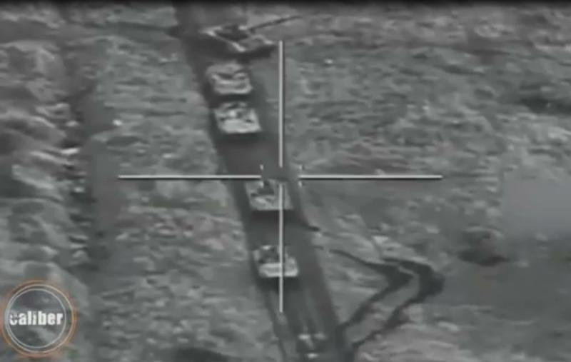 Video: Tên lửa dẫn đường của Israel nã thẳng vào cửa xe tăng Armenia từ khoảng cách 15 km