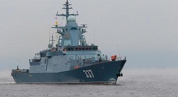 Tàu hộ tống Gremyashchy chính thức vào biên chế Hải quân Nga, chuẩn bị tới Hạm đội Thái Bình Dương