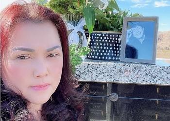 Vợ nghệ sĩ Chí Tài lặng lẽ ra thăm chồng dịp đầu năm
