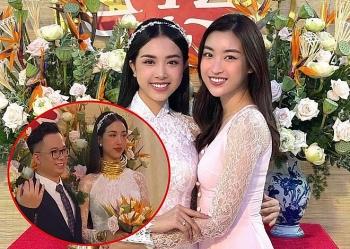 Chân dung Á hậu Thúy An, người đeo 13 cây vàng trong lễ cưới