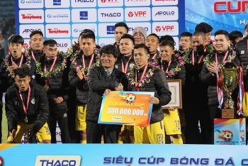Lịch thi đấu lượt đi V-League 2021 của Hà Nội